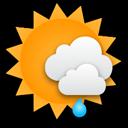 Zeitweiliger Sonnenschein, im Laufe des Nachmittags steigt die Schauer... Klick für mehr Infos