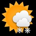 Es schneit immer seltener und die Sonne kommt zeitweise zum Vorschein.... Klick für mehr Infos