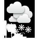 Ein trüber Tag, an dem es immer wieder unterschiedlich stark schneit.... Klick für mehr Infos