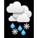 Meist dicht bewölkt und es schneit teils stärker, mittags mit Regen ... Klick für mehr Infos
