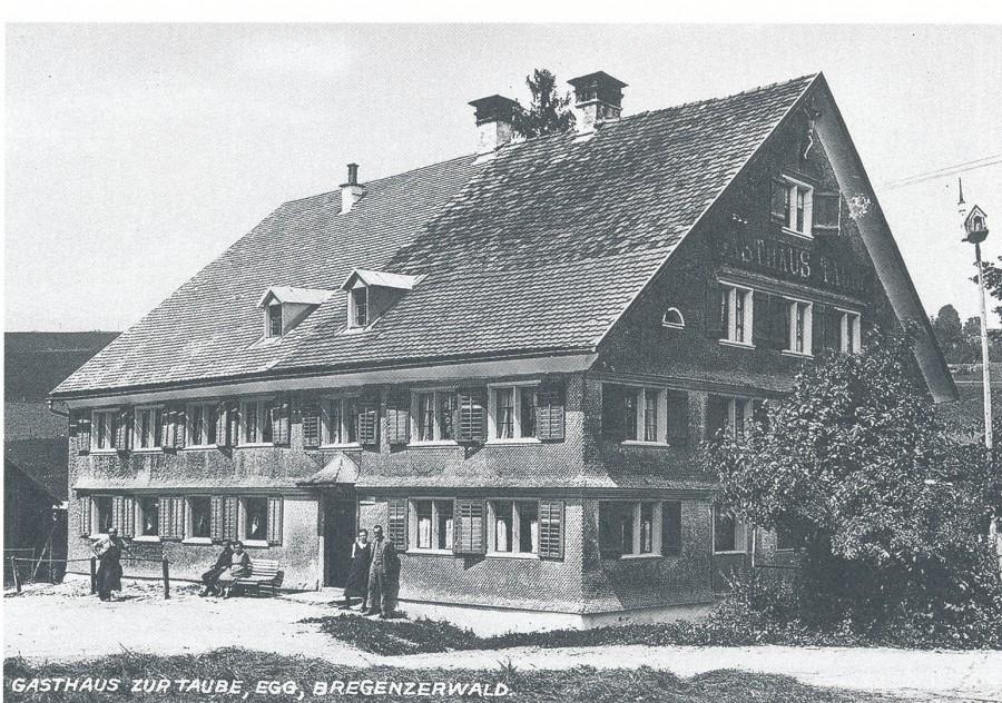 Gasthaus 'Taube', 1910