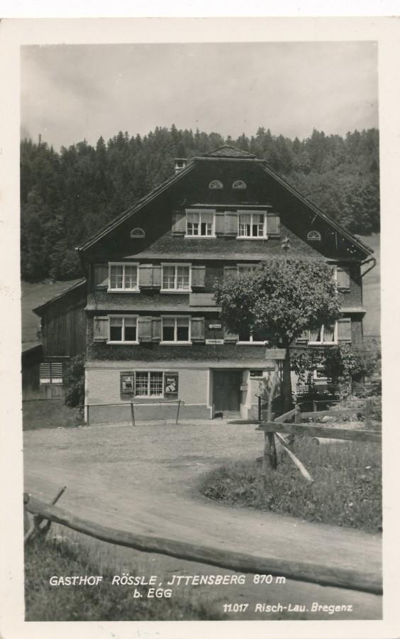 Gasthof Rössle, Ittensberg