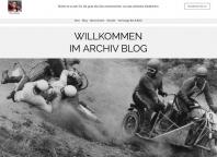 Vernissage: Der neue Archiv-Blog ist da